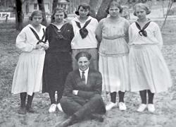 Entire Sebring High School Class,1922