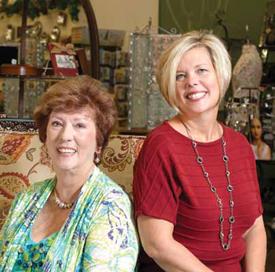 Linda Williams and Pam Ames