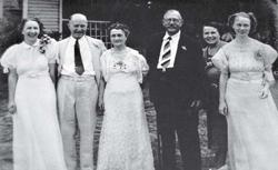 Sunny, Sandy, Maud, Cornelius, Minnie Bess and Martee