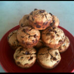 Chocolate Chip Flax Muffins