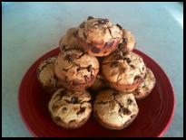Chocolate Chip Flax Muffins